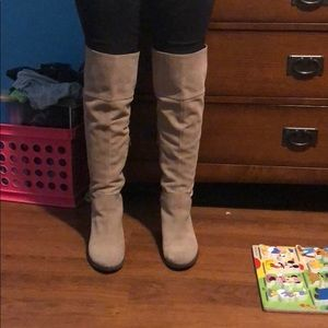 92b217c867d Vince Camuto Shoes - Size 9 1 2 Vince Camino over the knee boots
